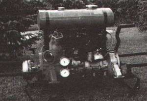 Motorna brizgalna Rosebauer 600 1